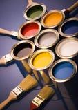 puszek farby w Fotografia Royalty Free
