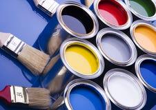 puszek farby w Obraz Stock