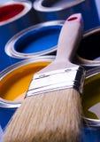 puszek farby w Fotografia Stock