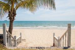 Puszek plaża Fotografia Stock