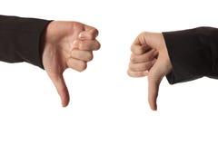 puszków kciuki Zdjęcie Stock