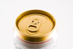 puszkę po piwie Zdjęcia Stock