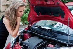 Puszka łamany samochód zdjęcia stock