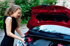 Puszka łamany samochód zdjęcia royalty free