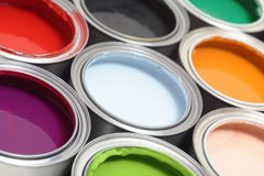 puszka ilustracyjny farby wektor Zdjęcie Stock