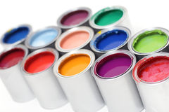 puszka ilustracyjny farby wektor Zdjęcia Stock