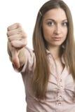 puszka kciuk Zdjęcie Stock