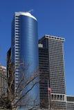 puszka Manhattan drapacz chmur Obrazy Royalty Free