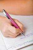 puszka notatek pisać Obraz Stock
