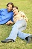 puszka trawy target69_0_ Obrazy Stock