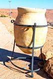 puszkujący w dolinnym Morocco Africa atlant suchą górę util Zdjęcie Royalty Free