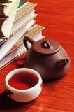 puszkuje herbacianego teacup Zdjęcie Royalty Free