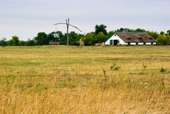 Puszta hungary Royalty Free Stock Photography