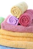 Puszyści ręczniki fotografia stock