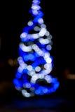 puszyste świąteczne lampki tree Obraz Stock