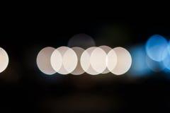 puszyste światła Fotografia Royalty Free