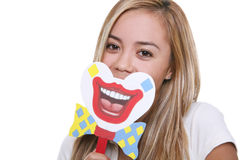 Put On a Happy Face Stock Photography