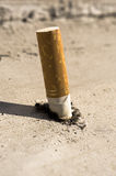 Put out cigarette Royalty Free Stock Image