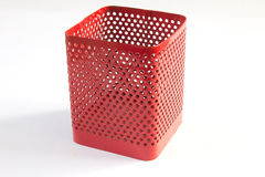 Put a pencil. Red box is empty pencil Royalty Free Stock Images