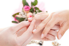 Put a ring on it Royalty Free Stock Photography