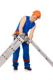 Put together step-ladder Stock Images