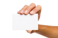 Put your text at this business card Royalty Free Stock Image