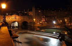 Puteney Bridge Bath Stock Photo