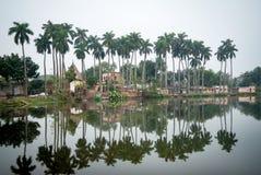 Puthia-Dorf der Tempel-Komplex, stockbilder