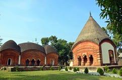 Puthia Temple Complex Stock Image