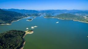 Putian Dongzhen Reservoir landscape Stock Image