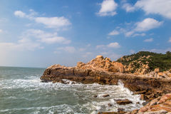 Putian Meizhou Island scenery Royalty Free Stock Images