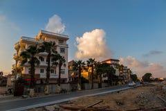 Putian Meizhou wyspy sceneria Fotografia Royalty Free