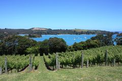 Putiki Bay, Waiheke Island Royalty Free Stock Photos
