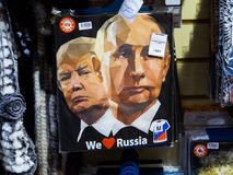 Putin und Trumpf stockfoto