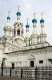 Putinki的诞生教会,莫斯科 库存照片