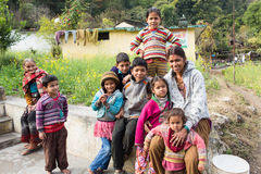 PUTNA, INDIA - JAN 03: Unidentified indian children on January 0 Royalty Free Stock Images