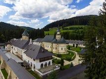 Putna monaster Widok z lotu ptaka z trutniem Zdjęcia Royalty Free