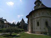 Putna monasteru jard Zdjęcia Royalty Free