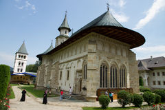 Putna Monastery Royalty Free Stock Photos
