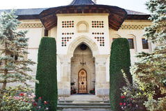 Putna Monastery. Entrance in Romania Stock Image