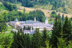 Putna Monastery Royalty Free Stock Photography