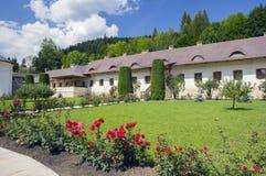 Putna monastery yard Stock Photos