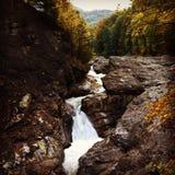 Putna vattenfall Royaltyfri Foto