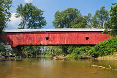 Putnam County Covered Bridge Stock Images
