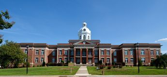 Putnam County Government House Royalty Free Stock Image
