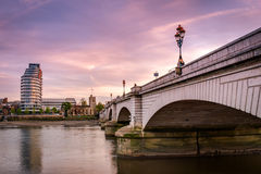 Putney bridge Stock Photo