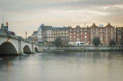 Putney bro i södra västra London royaltyfria foton
