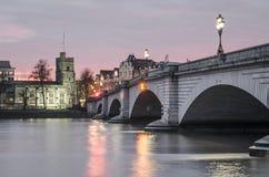 Putney bro, London arkivfoton