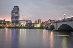 Putney bro, London royaltyfri fotografi