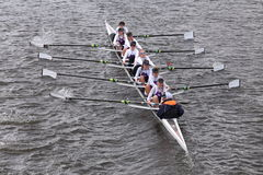 Putney High  races in the Head of Charles Regatta Women's Youth Eights Stock Photography